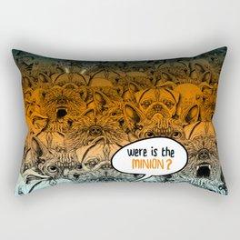 Were is the minion ? Rectangular Pillow