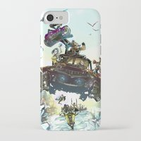 borderlands iPhone & iPod Cases featuring Borderlands Catch a Ride! by Donna A. / Karniz