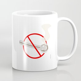 No Smoking...Crack Coffee Mug
