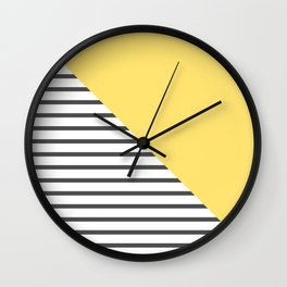 dismantled pattern Wall Clock