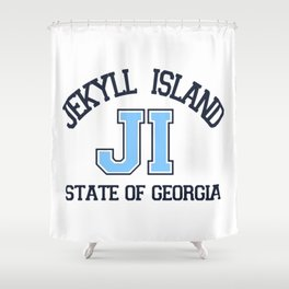 Jekyll Island - Georgia. Shower Curtain