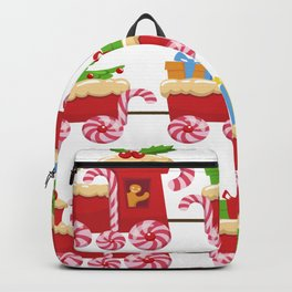 Christmas Train Backpack