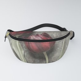 Red Tulips II Fanny Pack