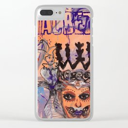 Lady Macbeth Clear iPhone Case