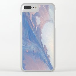New Ice Light One Clear iPhone Case