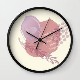 Moshe Dayan Wall Clock