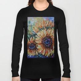 Ah, Sunflower by Lena Owens Long Sleeve T-shirt