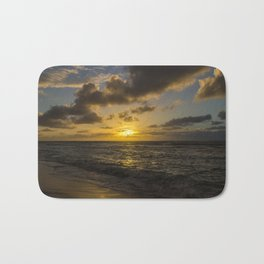 Golden Sunrise by Teresa Thompson Bath Mat