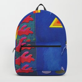 retro symbol Backpack