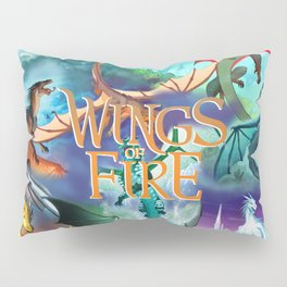 Wings Of Fire Painting Pillow Sham