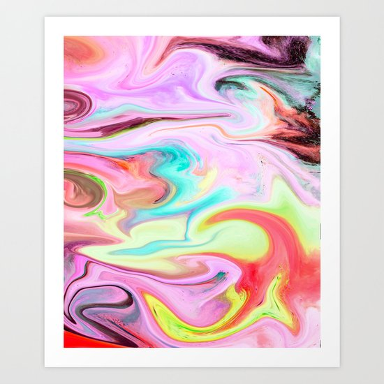 MARBLE 2 Art Print