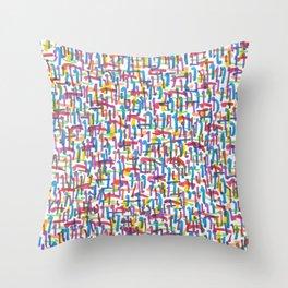 Tote With Attitude! Throw Pillow