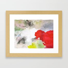 Distracted Framed Art Print