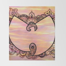 Henna Wu Throw Blanket