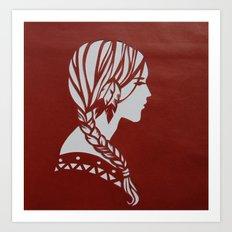 Feathers Art Print