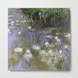 "Claude Monet ""Water lilies""(2) Metal Print"