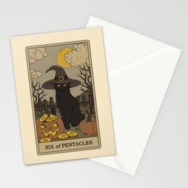 Six of Pentacles Stationery Cards