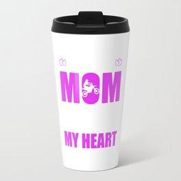 Motocross Moms Full Heart Mothers Day T-Shirt Travel Mug