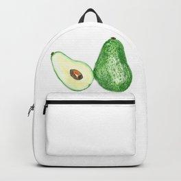 Avocado in watercolor Backpack