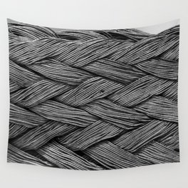 Steel Braided Strap Wall Tapestry