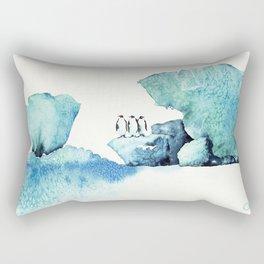 Melting Ice Rectangular Pillow
