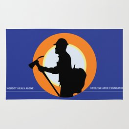 Creative Acre Foundation (CAF) Support poster Rug