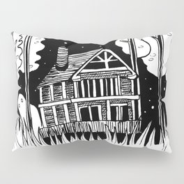Mysterious Ghost Pillow Sham