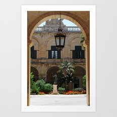 Old traditional Palace Art Print