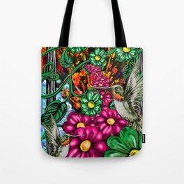 """""""Incense & Hummingbirds"""" Tote Bag"""