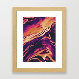 LONG WAY BACK Framed Art Print