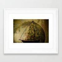 sailboat Framed Art Prints featuring Sailboat by Jean-François Dupuis