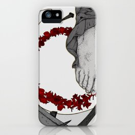 """""""Life From The Feet Of Death"""" illustration by Maxime Potvin iPhone Case"""