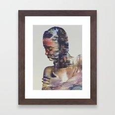 Wilderness Heart II Framed Art Print