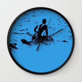 Blue Waters - Jet Ski Fun Wall Clock
