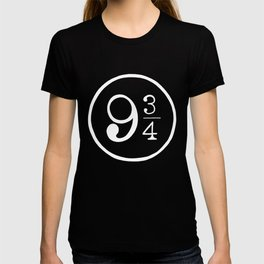 Platform 9 3/4 Nine And Three Quarters T-shirt