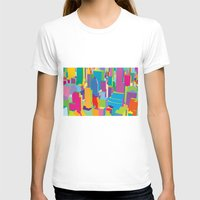 cityscape T-shirts featuring Cityscape by Glen Gould