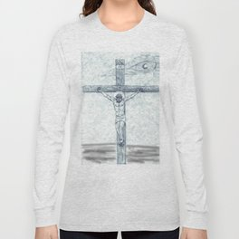 I preach Christ & Christ Crucified Long Sleeve T-shirt