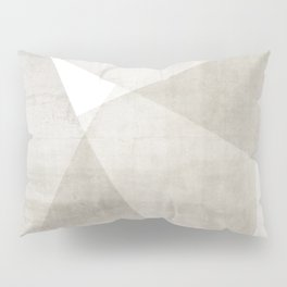 Structure No. 2 | Abstract in Neutral Pillow Sham