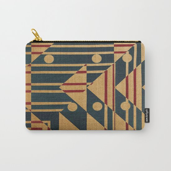 Birds in Row Carry-All Pouch
