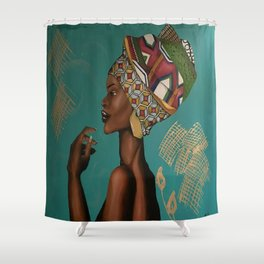 Ankara Shower Curtain