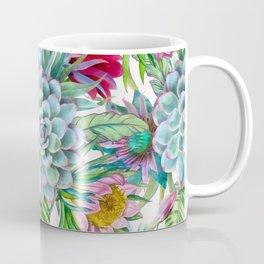Exotic flower garden Coffee Mug