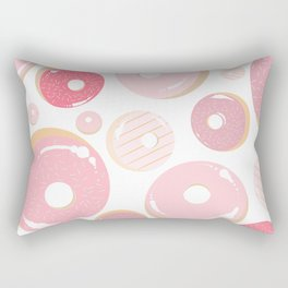 Strawberry Donuts #3 Rectangular Pillow