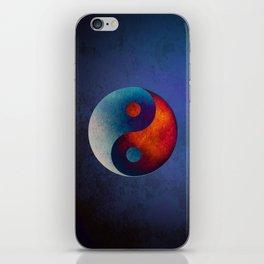 Yin Yang Symbol iPhone Skin