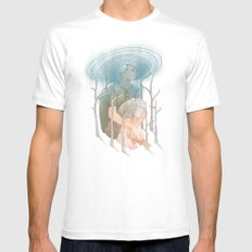 The Selfish Giant White Mens Fitted Tee MEDIUM