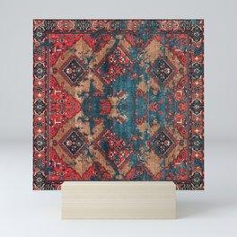 Vintage Moroccan Carpet Mini Art Print