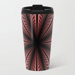Fantasy flower and petals IV Travel Mug