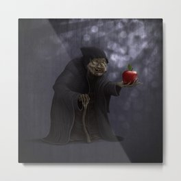 Poisoned apple Metal Print