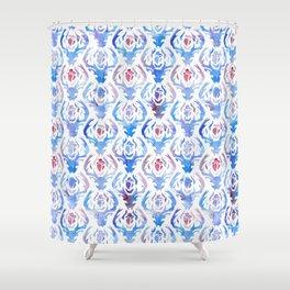 Deer Damask Shower Curtain