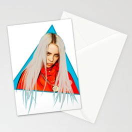 Billie Eilish Artwork Stationery Cards
