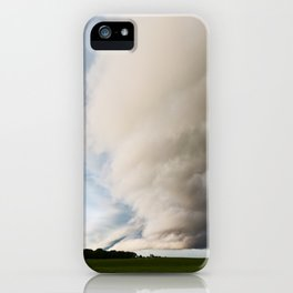 Wall Cloud 1 iPhone Case